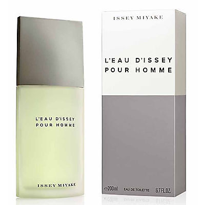 L''EAU D...'ISSEY POUR HOMME de ISSEY MIYAKE Colonia/Profumo 200 mL Uomo/Man