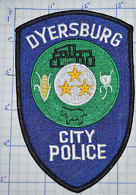 Tennessee, Dyersburg City Police Dept Patch