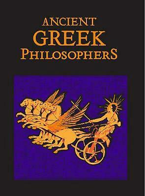 Ancient Greek Philosophers Hardcover Book Free Shipping!