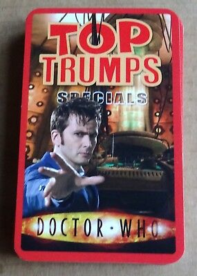 "Multi-List Selection Of Top Trumps Specials  ""doctor Who""  Single Cards  2008"