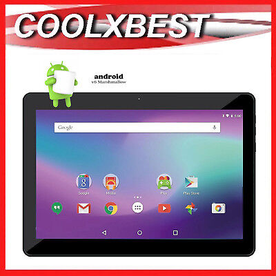 "10.1"" IPS ANDROID 6.0 TABLET PC QUAD CORE 16GB BLUETOOTH & WiFi LEARNING STUDENT"