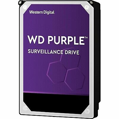Western Digital WD Purple 2TB 3TB 4TB 6TB 8TB 10TB Internal CCTV Hard Drive HDD