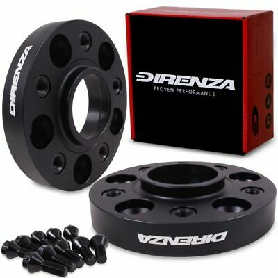 DIRENZA 5x120 25mm HUBCENTRIC WHEEL SPACER PAIR FOR BMW 3 SERIES E36 E46 E90 F30