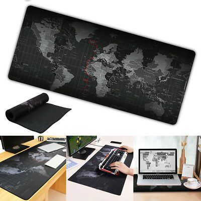 Ultra Large Anti-Slip World Map Speed Game Mouse Pad Gaming Mat for Laptop PC