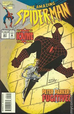 Amazing Spider-Man (1st Series) #401 1995 VF Stock Image