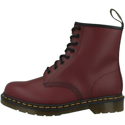 Dr Doc Martens 1460 Boots 8-Loch Leder Stiefel cherry red smooth 11822600