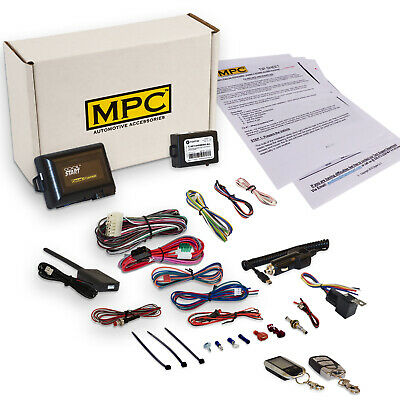 2 Way Lcd Remote Start Keyless Entry Kit For 2003 2006 Ford Expedition W