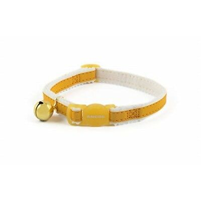 Safety Elastic Cat Collar Reflective Yellow