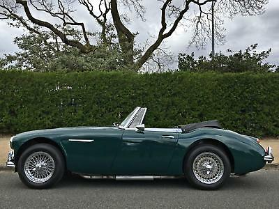 1967 Austin Healey 3000 MK3 BJ8 UK CAR - ORIGINALLY METALLIC GOLDEN BEIGE!!