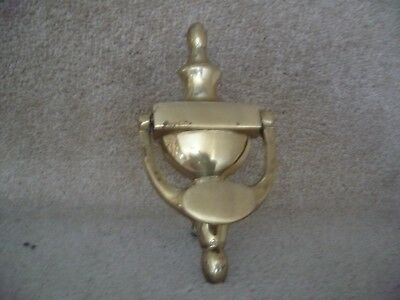 A Brass Urn Door Knocker With Fixings A Great Looking Door Knocker