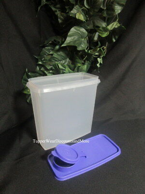 Tupperware NEW 13 cup Small Cereal Storage Container Storer Lupine Purple Seal
