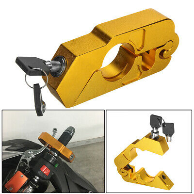 Motorcycle Handlebar Lock Brake Clutch Safety Security Theft with 2 Keys R3K7