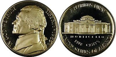 1978-S Proof Jefferson Nickel Full Steps Nice Coins Priced Right Shipped FREE