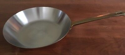 "Revere Ware Copper Bottom Limited Edition Brass Handle 10 1/2"" Pan"