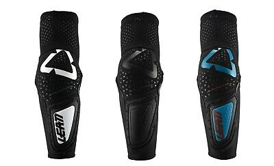 Leatt 3DF Hybrid Hard Elbow Guard Protection ATV Moto Off Road Riding Cycle