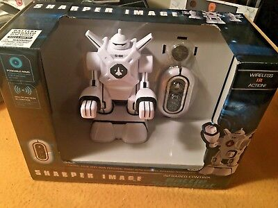The Sharper Image Battle Spacebot, Infrared Control, New, Free Shipping