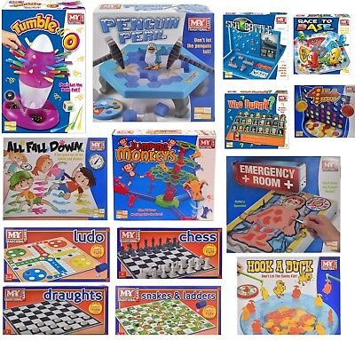 FULL SIZE KIDS FAMILY BOARD GAME GAMES CHILDRENS KIDS Kerplunk frustration