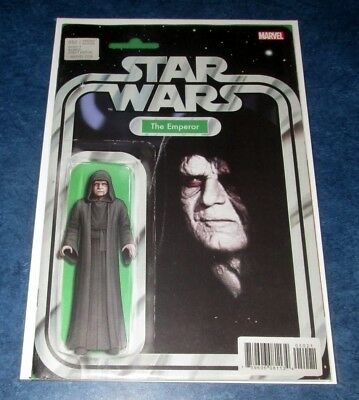 STAR WARS #50 EMPEROR ACTION FIGURE variant JOHN TYLER CHRISTOPHER MARVEL NM HOT