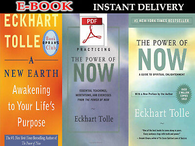 "Eckhart Tolle - practicing / The Power of Now | A new Earth |3 IN 1 ""E-ß00K """