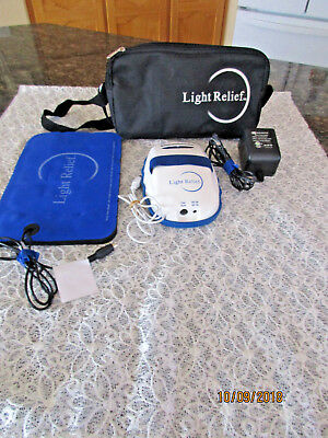 Light Relief LR150 Infrared Pain Reliever Therapy W/ Large Pad