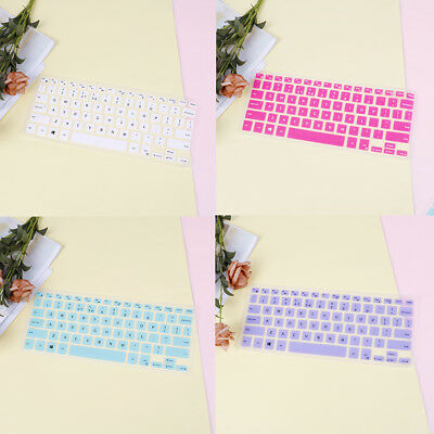 Waterproof silicone keyboard cover protector skin for XPS13 9350/9360 HF