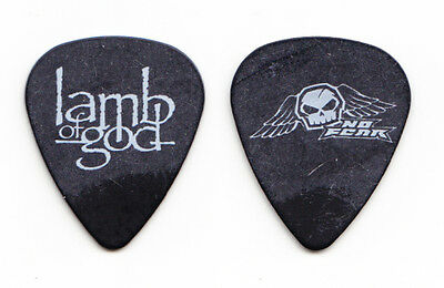 Lamb of God Black Guitar Pick - No Fear Tour