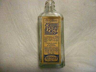 Dr. Gilbert's Cough Syrup - Dixie Medicine Co. / Morrison, Tennessee