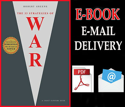 "The 33 Strategies of War by Robert Greene and Joost Elffers """" E-ß00K ""