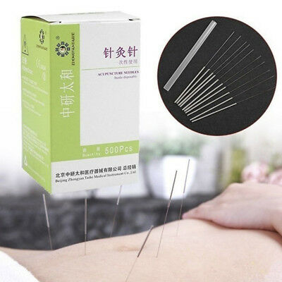 100Pcs/Box Authentic Acupuncture Disposable Needle Sterile Needles Single Use BD