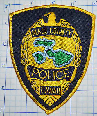 Hawaii, Maui County Police Dept Patch