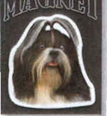 Car Magnet Die-cut SHIH TZU Dog Breed discontinued CLEARANCE
