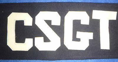 ARM BAND - Armband - Canh Sat Giao Thong - VIETNAM TRAFFIC POLICE - CSGT - Rare