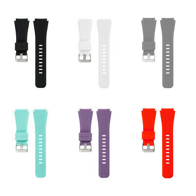 For Samsung Gear S3 Silicone Band Strap Replacement Wristband Frontier 22mm US