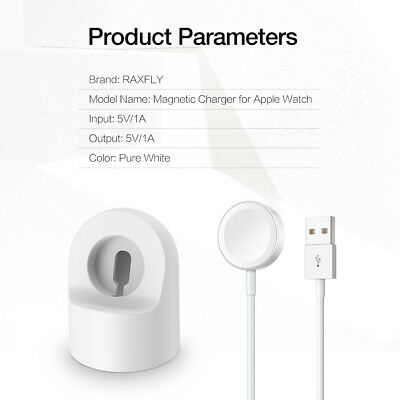 Apple Watch Charger iWatch Magnetic USB Charging Cable for 38/42mm Series 1/2/3