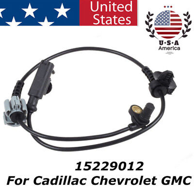 # 15229012 ABS Wheel Speed Sensor Front Right or Left FOR Cadillac Chevrolet GMC