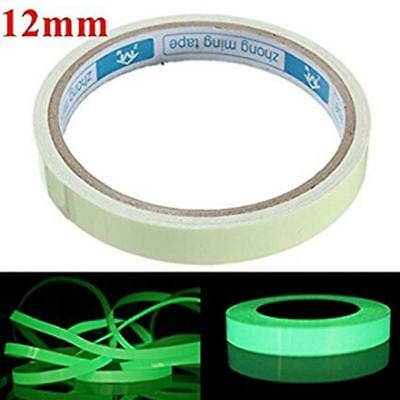 Glow In The Dark Sticky Tape Self Adhesive Luminous Safety Sticker Roll LC