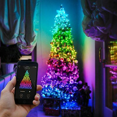 22.5m Smart App Controlled Christmas Tree LED Lights | Garden Outdoor Indoor