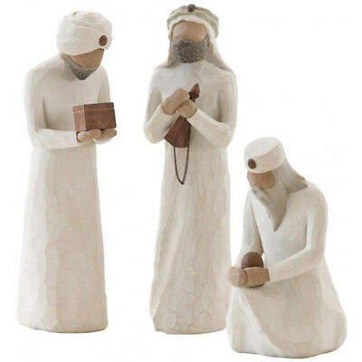 Willow Tree Nativity Collection The Three Wise Men Figurine Set Boxed
