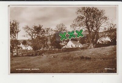 Photo Postcard - High Corrie Arran - 1941