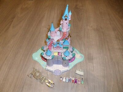 Jouet Polly Pocket Blue Bird 1995 Cendrillon Cinderella Disney 8 personnages