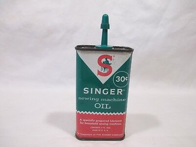 VINTAGE SINGER SEWING MACHINE OIL CAN 40s 40s £4040 PicClick UK Simple Singer Sewing Machine Oil Uk