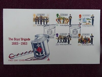 Guernsey 1st day cover The Boys Brigade 1983