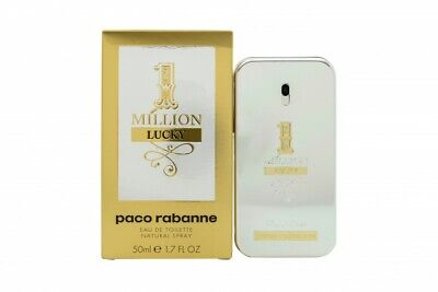 Paco Rabanne 1 Million Lucky Eau De Toilette Edt 50Ml Spray - Men's For Him. New