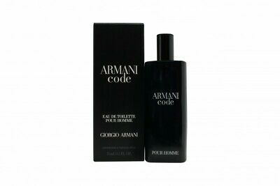 8f0afc04e52fd GIORGIO ARMANI CODE Eau De Toilette 15Ml Spray - Men s For Him. New ...