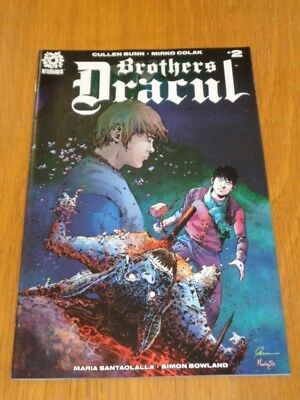 Brothers Dracul #2 Aftershock Comics May 2018 Nm (9.4)