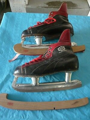 Patins De Hockey - Hungaria - Vintage - Taille 41
