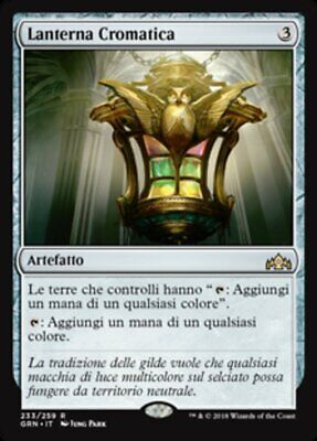 Mtg Chromatic Lantern - Lanterna Cromatica - Grn - Magic