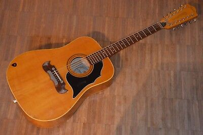 FRAMUS TEXAN 12String Guitar=Vintage 1968 made in Germany=plays good=fine Sound