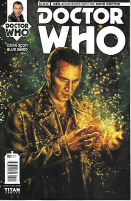 Doctor Who: The Ninth Doctor Comic Book #2 Cover A, Titan 2015 NEW UNREAD