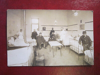 Carte Postale Photo CPA Royan? l'Hôpital? à identifier.